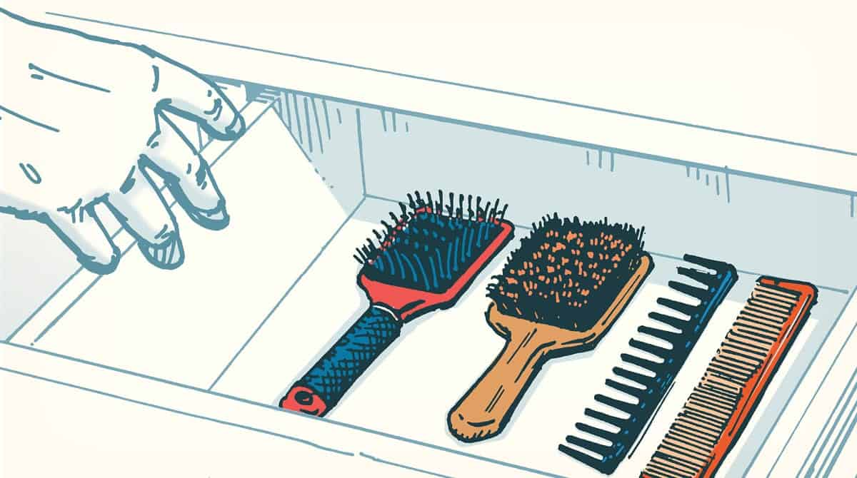 brush, comb, beard care