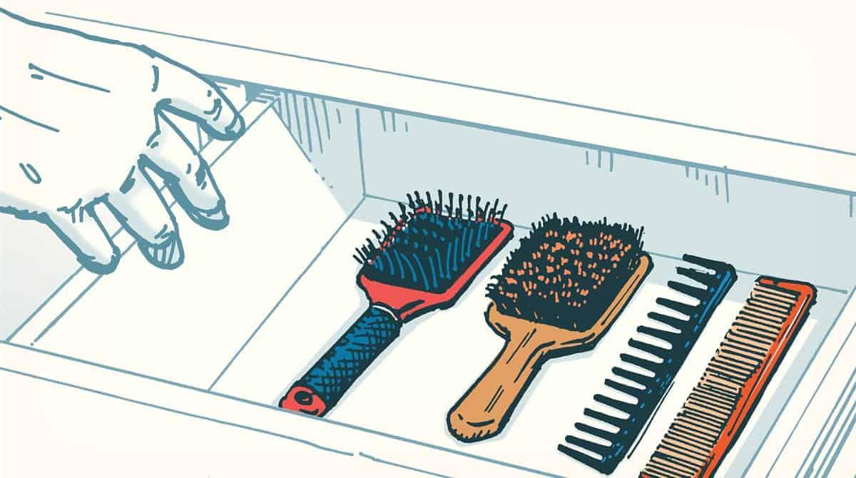 brush, comb, beard care
